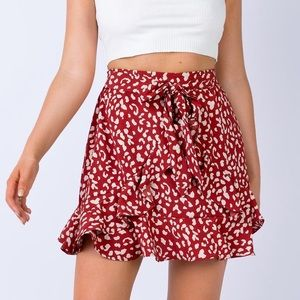 Princess Polly ruffles skirt